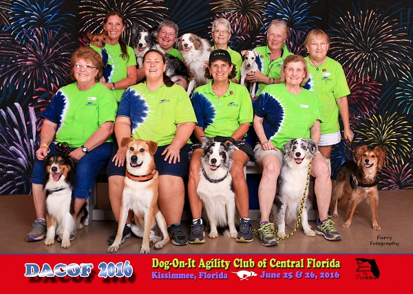 Dog-On-It Agility's 2016 DACOF Team Two